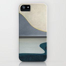Minimal Landscape 05 iPhone Case