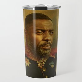 Idris EIba - replaceface Travel Mug