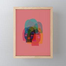 Multi faceted Framed Mini Art Print