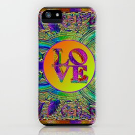LOVE IN THE TIME OF ART DECO iPhone Case