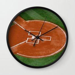 Bassballfield II Wall Clock