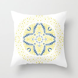 Magic Circle Throw Pillow
