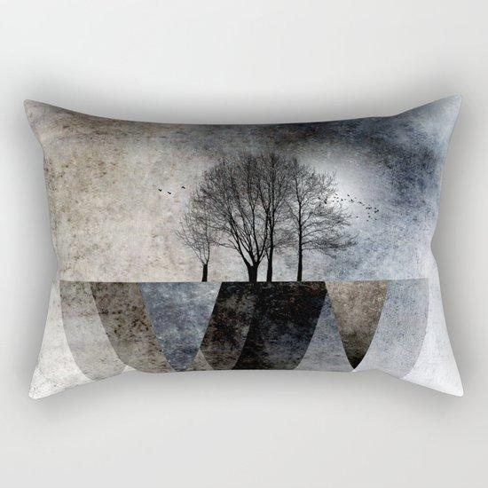 TREES over MAGIC MOUNTAINS II Rectangular Pillow