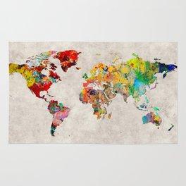 World Map 29 Rug