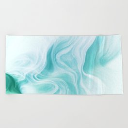 Marble sandstone - ice Beach Towel
