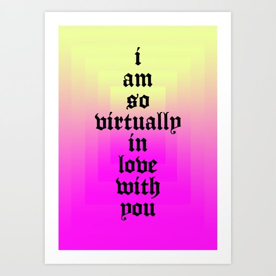 LOVE 2014 Art Print
