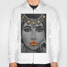 Tangerine Sky Goddess - by Ashley-Rose Standish Hoody