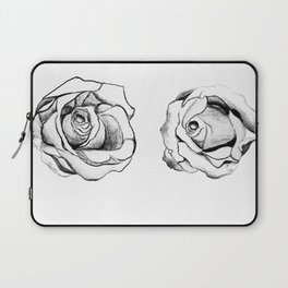 Two Roses for my Friends Laptop Sleeve