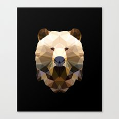 Polygon Heroes - The Lord Commander Canvas Print