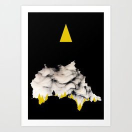 Cave Mouth Art Print