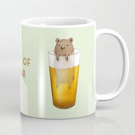 Pint of Bear Coffee Mug