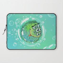 Bacillus B0b on bubble-transport Laptop Sleeve