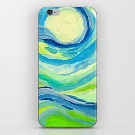 When the Sky Meets the Earth iPhone Skin