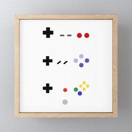 90's gaming Framed Mini Art Print