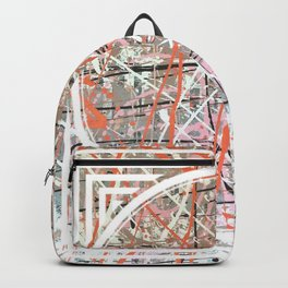 Flight of Color - Circle graphic Backpack