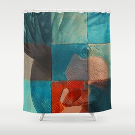 Jolis Parrots 1 Shower Curtain