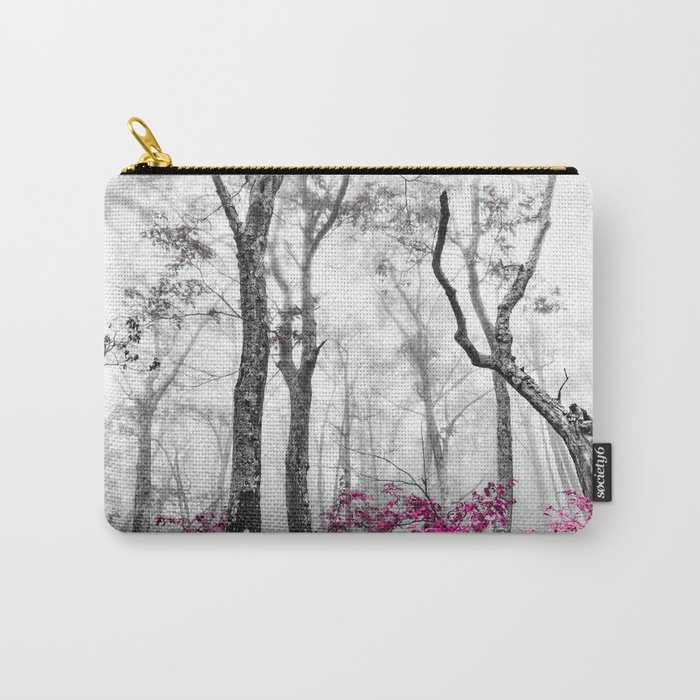 Princess Pink Forest Garden Carry-All Pouch