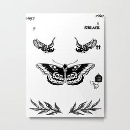 Harry Styles Tattoos Metal Print