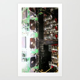 integrated 2 Art Print