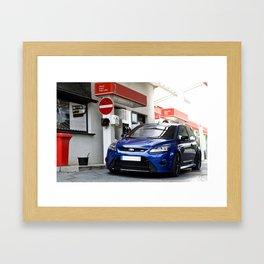 Ford Focus RS Car Nurburgring Framed Art Print