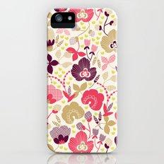 Summer Floral Slim Case iPhone (5, 5s)