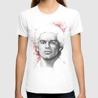 dexter T-shirts featuring Dexter  by Olechka