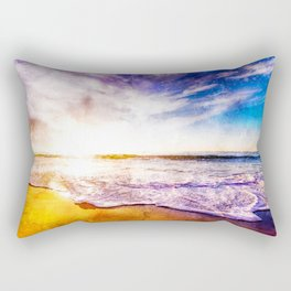 California Sunset, USA Rectangular Pillow