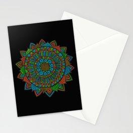 Glow Doodle Mandala Stationery Cards