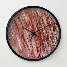 Impro pattern Wall Clock