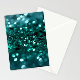 Sparkling OCEAN Glitter #1 #shiny #decor #art #society6 Stationery Cards