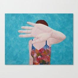 Das Ist Nicht Okay Canvas Print