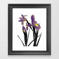 'Tell Me What To Swallow' / 'Iris' Framed Art Print
