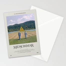 Midsommar (2019) Minimalist Poster Stationery Cards