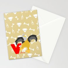 V for vulture Stationery Cards
