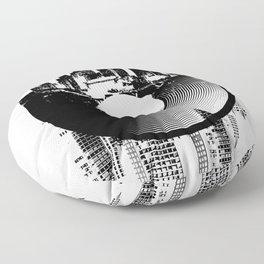 Urban Vinyl of Underground Music Floor Pillow