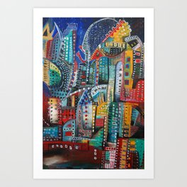 Underground Movement Art Print