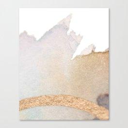 Golden bands Canvas Print