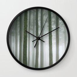 Forest Walk Wall Clock