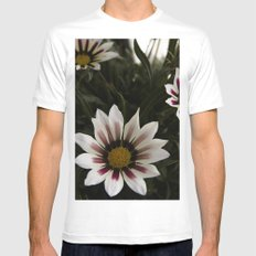 Flowers in summer Mens Fitted Tee MEDIUM White
