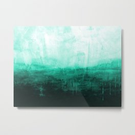 Paint 8 abstract minimal modern water ocean wave painting must have canvas affordable fine art Metal Print