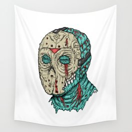 Undead Jason Wall Tapestry