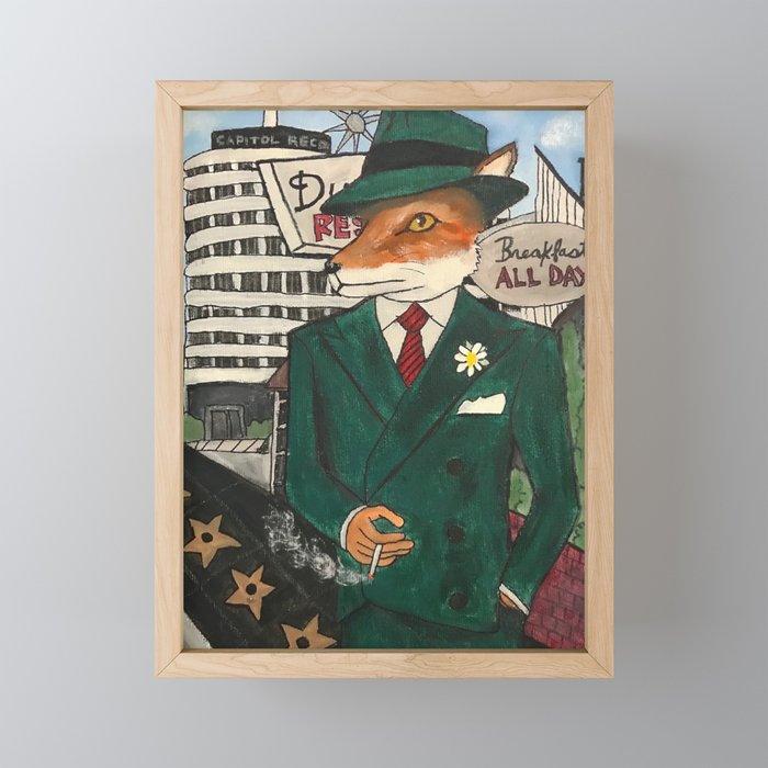 Foxy Grant Framed Mini Art Print