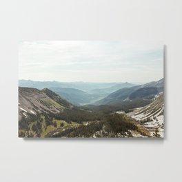 Scarp Ridge Trail 2 Metal Print