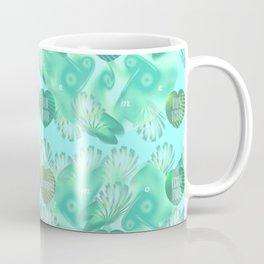Abstract vegan pattern Coffee Mug