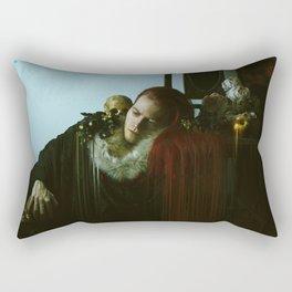 Nature Morte Glitch Rectangular Pillow