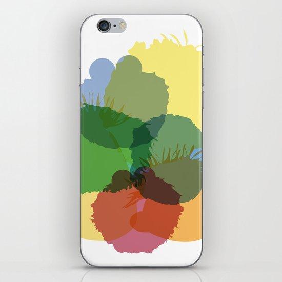 Yay Sesame2 iPhone & iPod Skin