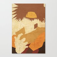 goku Canvas Prints featuring Goku by JHTY