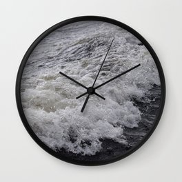 Wispy Wave of Loch Ness Wall Clock