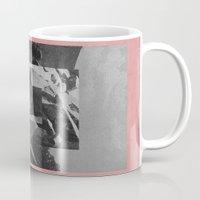 stone Mugs featuring Stone by Thrashin