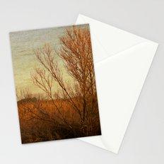 Orange winter Stationery Cards